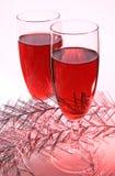 πορφυρό κρασί Στοκ Εικόνες
