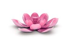 Πορφυρό λουλούδι λωτού Ελεύθερη απεικόνιση δικαιώματος