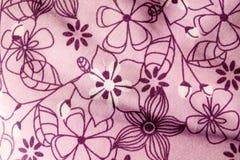 Πορφυρό λουλούδι paterns Στοκ φωτογραφίες με δικαίωμα ελεύθερης χρήσης