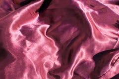 Πορφυρό υπόβαθρο σατέν Στοκ φωτογραφίες με δικαίωμα ελεύθερης χρήσης