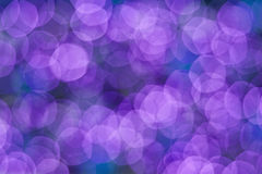 Πορφυρό χρώμα bokeh Στοκ Εικόνες