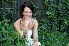 πορφυρό wed Στοκ φωτογραφία με δικαίωμα ελεύθερης χρήσης