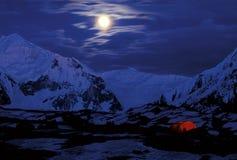 πορφύρα βουνών Στοκ εικόνες με δικαίωμα ελεύθερης χρήσης