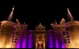 πορφύρα κάστρων Στοκ φωτογραφία με δικαίωμα ελεύθερης χρήσης