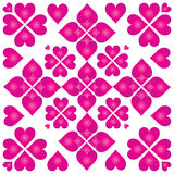 πορφύρα καρδιών Στοκ φωτογραφίες με δικαίωμα ελεύθερης χρήσης