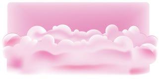 πορφύρα σύννεφων ελεύθερη απεικόνιση δικαιώματος