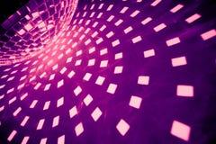 πορφύρα disco σφαιρών Στοκ εικόνες με δικαίωμα ελεύθερης χρήσης