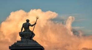 Ποσειδώνας Στοκ φωτογραφίες με δικαίωμα ελεύθερης χρήσης