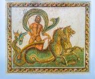 Ποσειδώνας στο άρμα στοκ φωτογραφίες