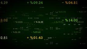 Ποσοστά και περιθώρια πράσινα διανυσματική απεικόνιση