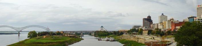 Ποτάμι Μισισιπή στη Μέμφιδα στοκ φωτογραφία με δικαίωμα ελεύθερης χρήσης