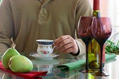ποτά καφέ Στοκ Φωτογραφίες