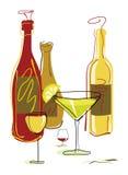 ποτά κοκτέιλ Στοκ εικόνα με δικαίωμα ελεύθερης χρήσης