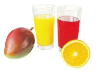 ποτά που χρωματίζονται Στοκ φωτογραφίες με δικαίωμα ελεύθερης χρήσης