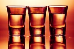 ποτά τρία Στοκ Εικόνα