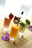 ποτά τροπικά Στοκ Εικόνα