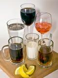 ποτά Στοκ εικόνα με δικαίωμα ελεύθερης χρήσης
