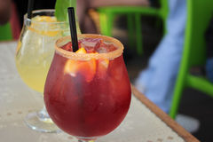 ποτά fruity Στοκ εικόνες με δικαίωμα ελεύθερης χρήσης