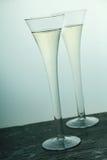 Ποτήρια της σαμπάνιας στοκ φωτογραφία με δικαίωμα ελεύθερης χρήσης