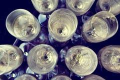 Ποτήρια της σαμπάνιας Στοκ Φωτογραφία