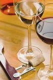 Ποτήρια του κρασιού Στοκ Φωτογραφία