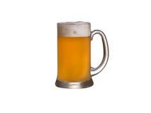 Ποτήρι της μπύρας σίτου που απομονώνεται στοκ φωτογραφία με δικαίωμα ελεύθερης χρήσης