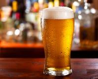 Ποτήρι της μπύρας Στοκ εικόνες με δικαίωμα ελεύθερης χρήσης
