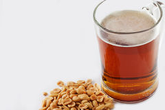 Ποτήρι της μπύρας Στοκ Φωτογραφία