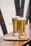 Ποτήρι της μπύρας Στοκ Φωτογραφίες