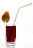 Ποτήρι του κοκτέιλ αχλαδιών Στοκ Εικόνες