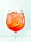 Ποτήρι του κοκτέιλ aperol spritz Στοκ φωτογραφία με δικαίωμα ελεύθερης χρήσης