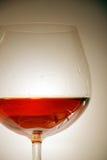 Ποτήρι του κονιάκ στοκ φωτογραφίες με δικαίωμα ελεύθερης χρήσης