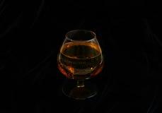 Ποτήρι του κονιάκ Στοκ εικόνα με δικαίωμα ελεύθερης χρήσης