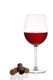 Ποτήρι του κρασιού Στοκ Φωτογραφία