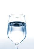 Ποτήρι του νερού στοκ φωτογραφία