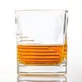 Ποτήρι του ουίσκυ ή σκωτσέζικος στοκ εικόνες