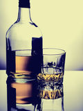 Ποτήρι του ουίσκυ Στοκ φωτογραφία με δικαίωμα ελεύθερης χρήσης