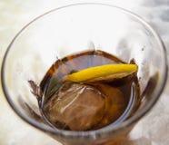 Ποτήρι του ποτού Στοκ Εικόνες