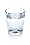 Ποτήρι του ύδατος στοκ εικόνες με δικαίωμα ελεύθερης χρήσης