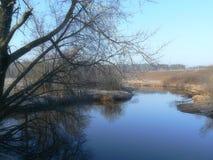 Ποταμός άνοιξη Στοκ φωτογραφία με δικαίωμα ελεύθερης χρήσης