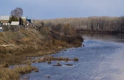 Ποταμός άνοιξη Στοκ Φωτογραφία