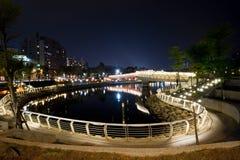 ποταμός αγάπης καρδιών Στοκ Εικόνα