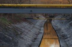 ποταμός αστικός Στοκ εικόνα με δικαίωμα ελεύθερης χρήσης