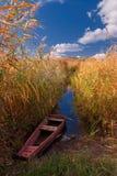 ποταμός βαρκών Στοκ φωτογραφίες με δικαίωμα ελεύθερης χρήσης