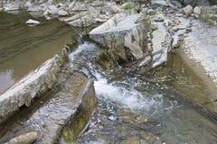 ποταμός βουνών μικρός Στοκ Φωτογραφία