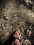Ποταμός βουνών στην Τουρκία, πολύ καθαρό νερό στοκ εικόνα με δικαίωμα ελεύθερης χρήσης