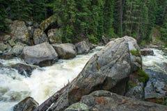 Ποταμός βουνών του Κολοράντο Στοκ φωτογραφία με δικαίωμα ελεύθερης χρήσης