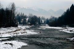 ποταμός βουνών Στοκ Εικόνες