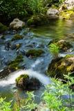 Ποταμός βουνών Στοκ Φωτογραφία