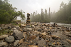 Ποταμός βουνών. Στοκ εικόνα με δικαίωμα ελεύθερης χρήσης